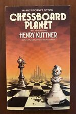 Rare Oop Henry Kuttner - Chessboard Planet and Other Stories (1983) Sci-Fi Pb