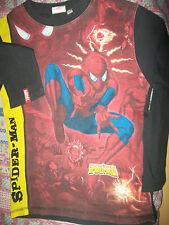 tee shirt manche longue spiderman de taille 10 ans