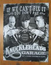 The 3 Stooges Classic Comedy Show Motorcycle Mechanic Funny Advertisement Sign