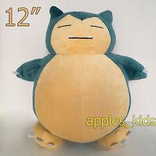 "New Pokemon Go Plush Snorlax #143 Soft Toy Doll Stuffed Animal Teddy 12"" BIG"