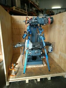 Rebuilt Bridgeport Milling Machine with Vari speed head and 42inch table