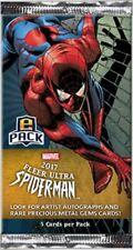 2017 DIGITAL Fleer Ultra Spiderman Spider-man Marvel Metal: UPPER DECK EPACKS