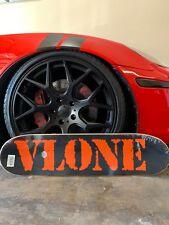 Vlone x Fragment Skate board 100% authentic black/ orange color.
