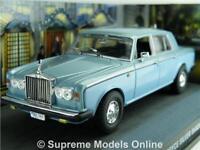 ROLLS ROYCE SILVER SHADOW II CAR MODEL 1:43 BLUE LICENCE TO KILL BOND DALTON K8Q