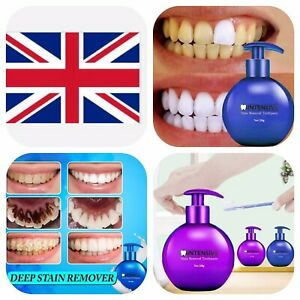 Intensive Stain Removal Whitening Toothpaste Fight Bleeding Gum Toothpaste