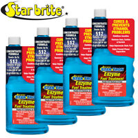 4-Pack Star Brite Star Tron Enzyme Fuel Treatment Concentrated Gas Formula 32oz
