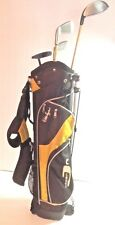 ⛳JUNIOR GOLF CLUBS TURNING PRO 4 Club Set  w/ Stand Bag Graphite ages 9-11 #W970
