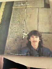 "12"" Vinyl LP  - George Harrison  - Somewhere In England"