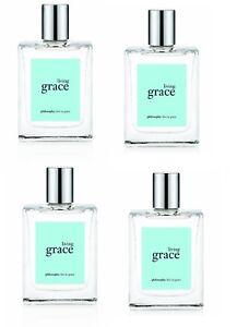 4-Philosophy Living Grace Spray Fragrance 2  oz  total BRAND NEW NO BOX