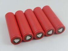 5x Sanyo Batteria UR18650NSX / LiNiCoAlO2 / Li-Ion / 3.6V / 3.4Ah