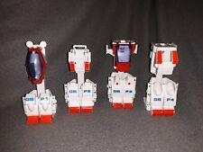 Tonka Go Bots 1985 Power Suits Armor for Guardian Go Bots GB P1, P2, P3, P4