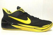 Nike Kobe AD Oregon Ducks Basketball Shoes Black Yellow Mens 922026-001 Size 11