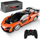 X RASTAR Licensed RC Series, 1:24 Scale Remote Control Car McLaren Orange
