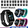 Smart Watch Bracelet Heart Rate Blood Fitness Tracker Impermeable para Android