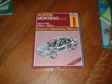 AUSTIN ROVER / MG MONTEGO HAYNES MANUAL 1984 TO 1992.