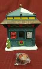 "Dept. 56, Village Accessories, ""Classic Christmas Kiosk"" Nib"