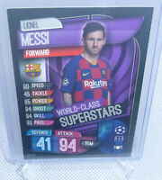2020 Topps Match Attax Lionel Messi FC Barcelona World Class Superstars