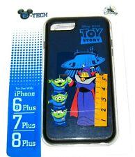 Disney Parks Authentic D-Tech iPhone Case 8 Plus 7+ 6S+ Toy Story Zurg LGM Alien