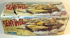 Vintage Radio Shack Rc Desert Storm Sentinel Battle Tank (Great Condition)