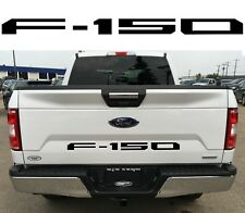 ABS PLASTIC Gloss Black Tailgate Inserts For 2018+ Ford F150 New Free Shipping