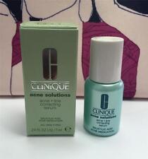 Authentic New Clinique Acne Solutions Acne + Line Correcting Serum .24oz/7ml
