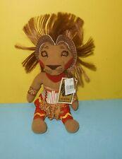 """Disney Lion King Simba Stuffed Plush Doll The Broadway Musical Toy 12"""" Headdress"""