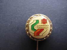 Anstecknadel Goldene Ehrennadel Schwäbischer Turnerbund
