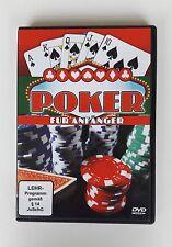 Poker für Anfänger - TEXAS HOLD'EM und FIVE CARD DRAW - DVD - TOP!