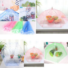 Foldable Food Umbrella Cover Fly Wasp Insect Net Picnic Kitchen Party Mesh Net