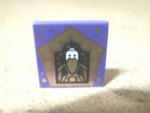 Lego Harry Potter Purple Tile 2 x 2 Chocolate Frog Card Salazar Slytherin NEW