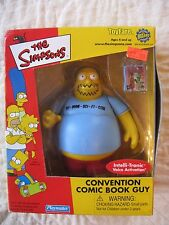 THE SIMPSONS Convention Comic Book Guy action figure by PLAYMATES ToyFare