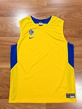 RARE NIKE MACCABI TEL AVIV BASKETBALL GAME JERSEY ISRAEL FIBA EUROLEAGUE M