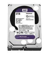 WD Purple WD20PURZ 2TB Surveillance Hard Drive Intellipower SATA 6 Gb/s 3.5''
