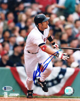 NOMAR GARCIAPARRA SIGNED AUTOGRAPHED 8x10 PHOTO BOSTON RED SOX BECKETT BAS