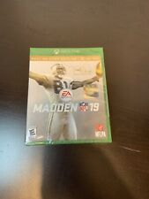 Madden NFL 19 [ Hall of Fame Edition ] (XBOX ONE) NEW