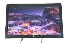 """HP Model LV2311 23"""" Black Widescreen LED-Backlit LCD Monitor Used No stand&cable"""