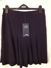 M & S Mini Skirt with Stretch BNWT Size 8/19in