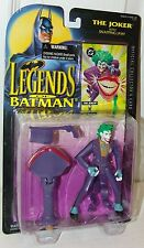 Legend of Batman - The Joker w/Snapping Jaw & Collector Card - Kenner 1994