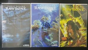 ⭐️ RAWBONE #1-3 (Mature)(2009 AVATAR Comics) VF/NM Book