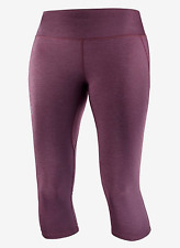 2020 Salomon Women's Agile Mid Tight Running Tights Winetasting