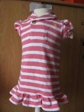 Ralph Lauren Sommer Kleid mit Höschen Rosa Weiß  86 92 24m Neu