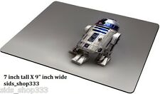 Star Wars R2D2  Anti slip  COMPUTER MOUSE PAD 9 X 7inch Darth Vader