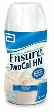 BEST PRICE! 6 X ENSURE TWOCAL HN TWO CAL 200ML 2.0kcal/ml TOTAL 1.2L VANILLA