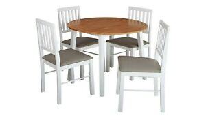 Kendal Solid Wood Extending Table & 4 Chairs