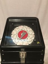 Vintage Spinning Poker Game 10 Cent Electric Trade Stimulator