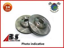 XLBVABS Jeu 2 disques frein avant DACIA LODGY Diesel 2012>