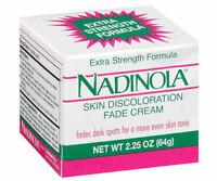 NADINOLA SKIN DISCOLORATION FADE CREAM 2.25 OZ [EXTRA STRENGTH]