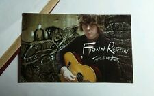 FIONN REGAN THE END OF HISTORY PHOTO WITH GUITAR  2.5X4 MUSIC STICKER