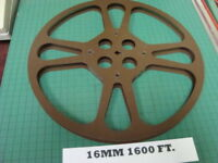 16mm Goldberg Film Reel 1600 foot