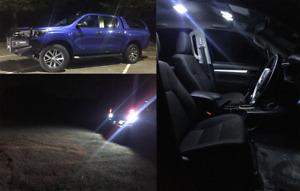 TOYOTA HILUX 2016-2019 DUAL CAB LED INTERIOR & LED REVERSE LIGHTS UPGRADE COMBO